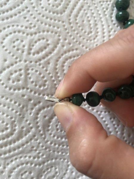 Wert Perlenkette & Armband