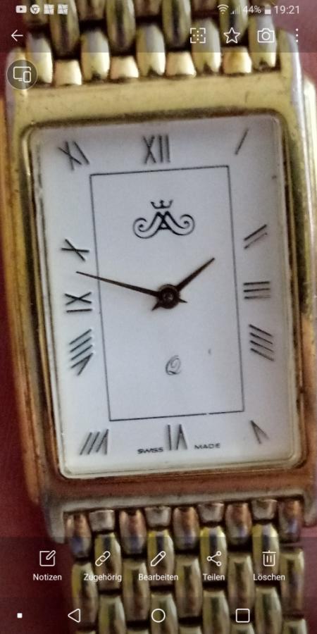 Was ist das für eine Armbanduhr?