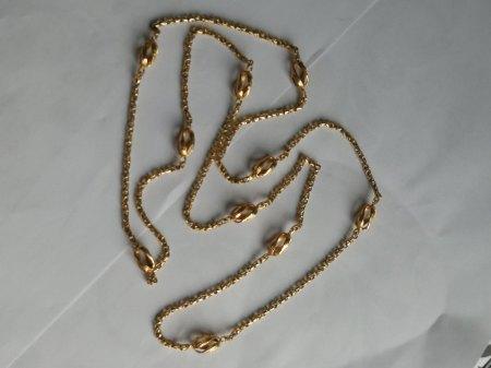 Ich biete eine 585er Königskette 95cm