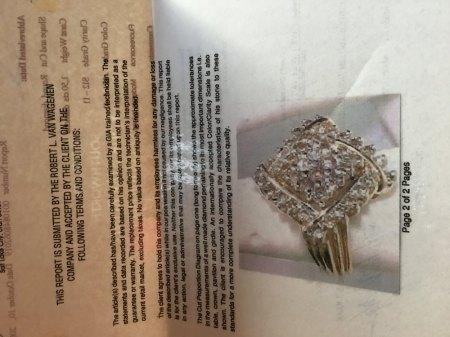 Diamond Ring 1,5 cts