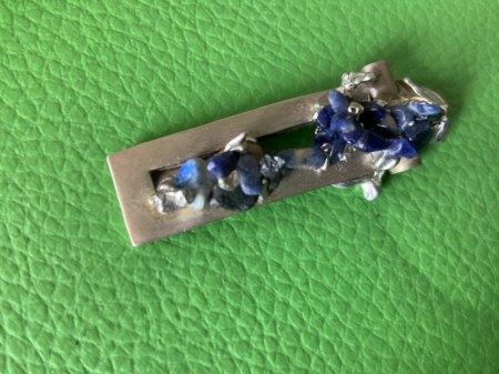 Wie geht das.......? Edelsteine fassen mit Zinn....? Oder ist das Silber ....?