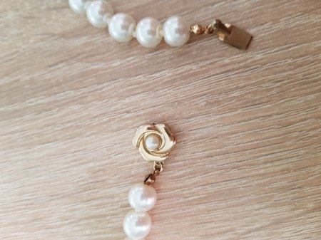 geerbte Perlenkette