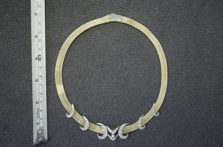 Gold-Brillant-Halskette Marktwert und Verkaufsstrategie gesucht