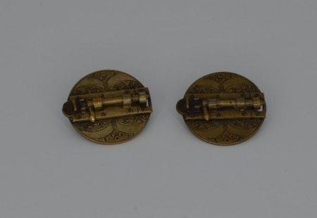 Außergewöhnlicher Manschettenknopf-Verschluss