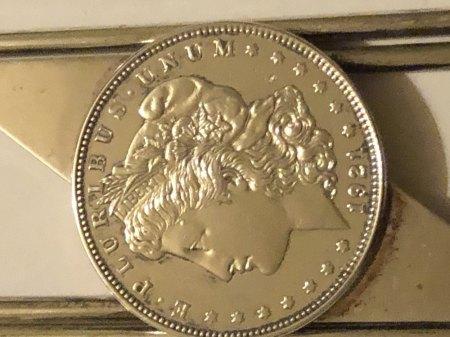 Was könnte es sein? 800 Silber mit Münze