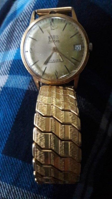 Alte Anker Nobis 17 Rubis Armbanduhr