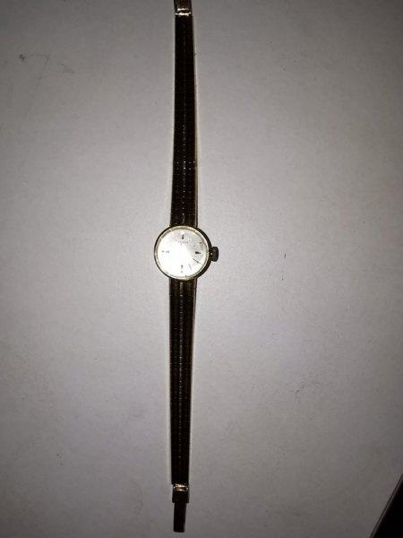 Anker Gold Uhr