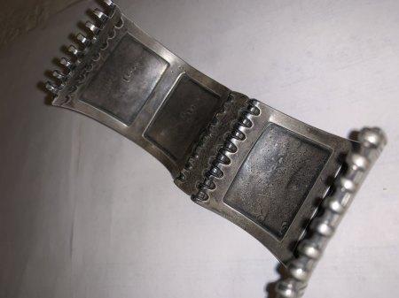 Silberarmreif Herkunft und Alter - punziert