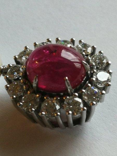 Perlenkette mit Saphir 🤔