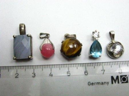 Krappenfassung Anhänger Silber 11mm dringend gesucht