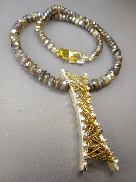 Wie fertige ich ein Gold oder Silbergeflecht an, siehe Anhang