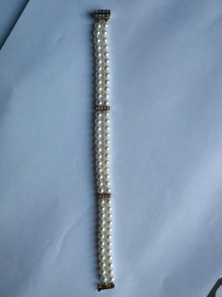Ich biete ein Perlen-Armband
