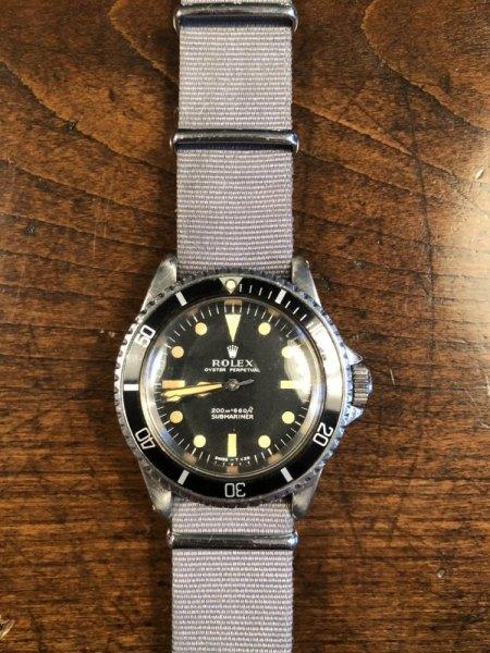 Rolex 5513 Royal Navy