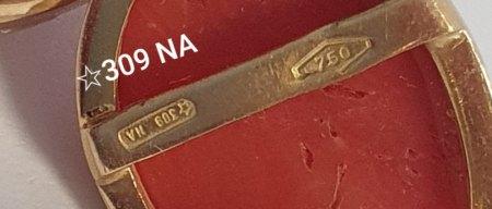 GOLD KORALLE - 🌟309 NA-  Was ist dieses Zeichen bitte?