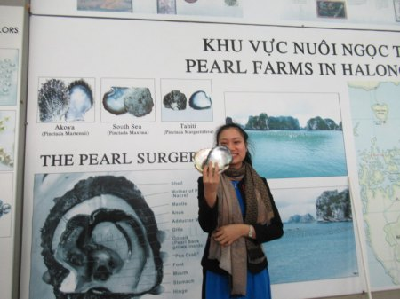 Perlfarm in der Ha-Long-Bucht