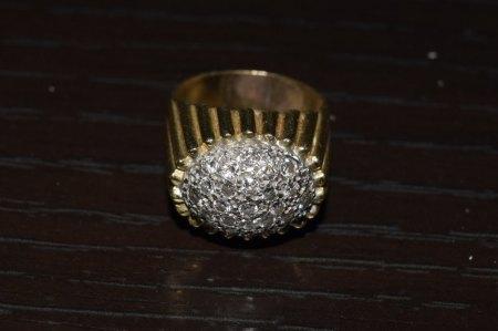 Goldring mit Diamanten/Brillanten?
