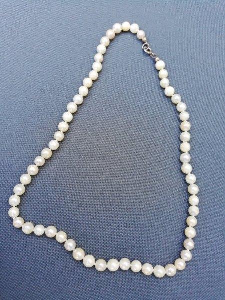 Perlenkette echt oder nicht?