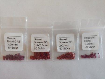 Verkaufe Granat (Maschinenschliff)
