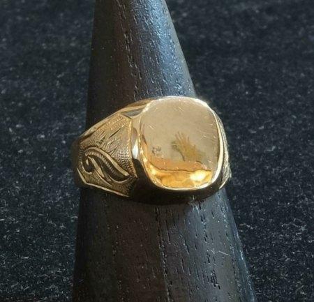 Gekaufter Ring bei Auktionshaus
