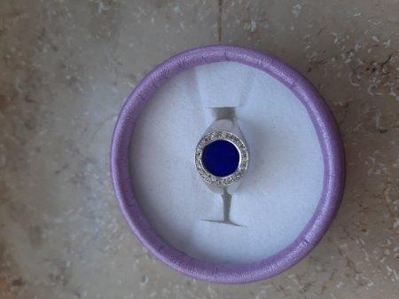 Oma's Ring mit Lapislazuli