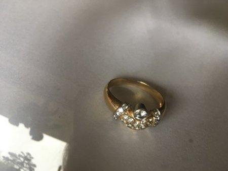 Ring aus Türkei, angeblich 18k