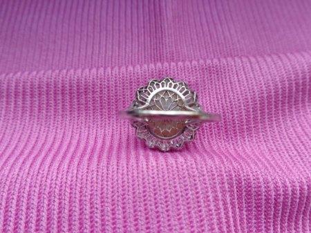 Ring Naturperle Diamanten Erbstück  Antik? Wert?