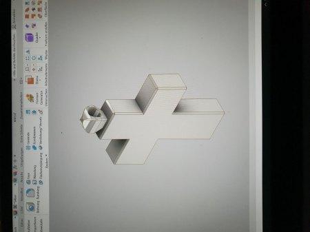 Kreuzanhänger aus Silber