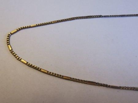 Gold Kette mit Barockperle Anhänger