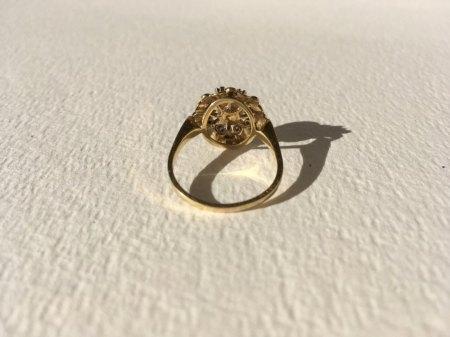 Wert und alter von Goldring mit Perle