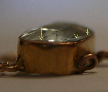 Reparatur / Umarbeitung eines Aquamarincolliers