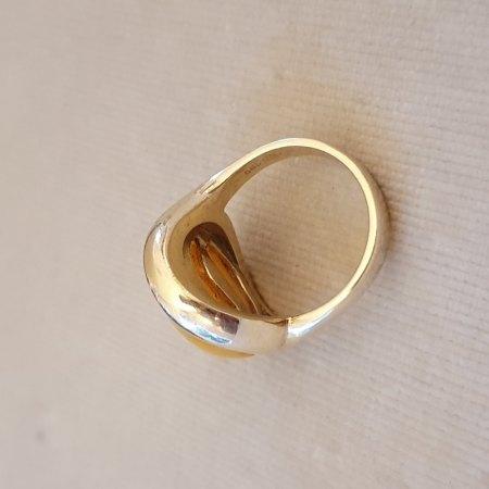 """Punze eines Gold Rings bestimmen """"L☆"""""""