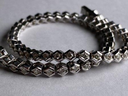 Brilliantschmuck / Diamantschmuck bitte um Bewertung #2 Diamantarmband