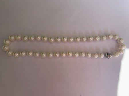 Bitte um Wertschätzung Perlenkette