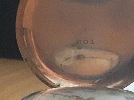 alte Damen-Taschenuhr ohne Namen, Nummer, Punze