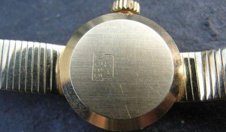 Damenuhr Luxus Incabloc in Gold
