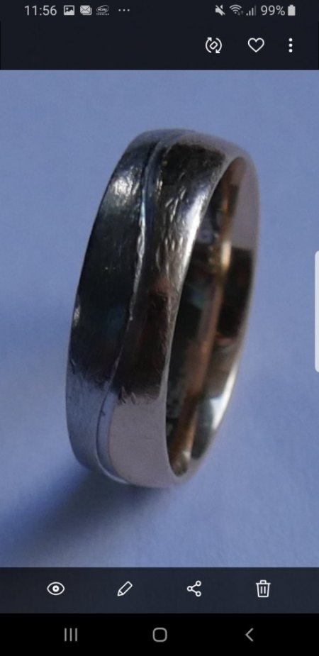 Suche nach Ursache für Riefen auf dem Ring