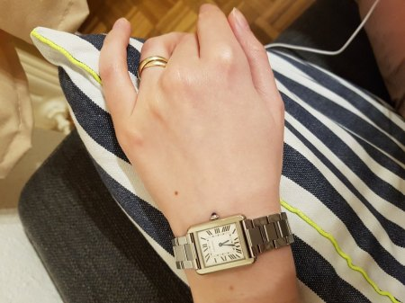 Cartier Solo Tank in small oder large?