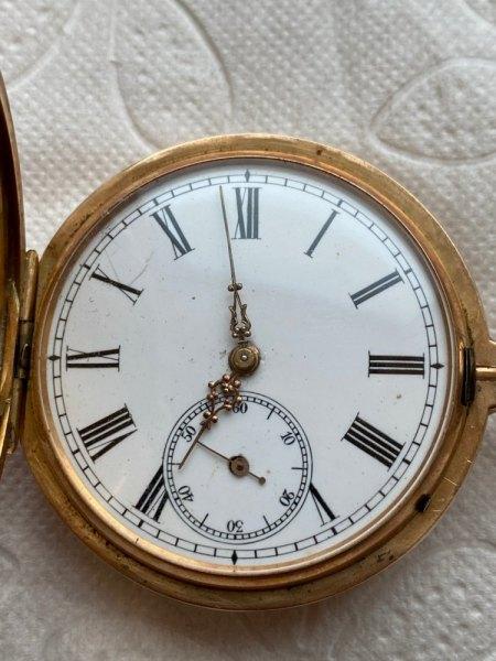 Schätzung einer Taschenuhr