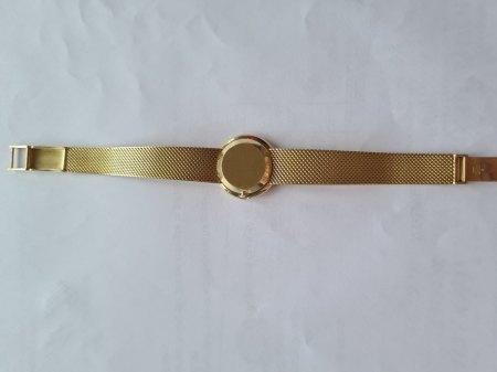OMEGA Damenuhr Gold mit Briallianten