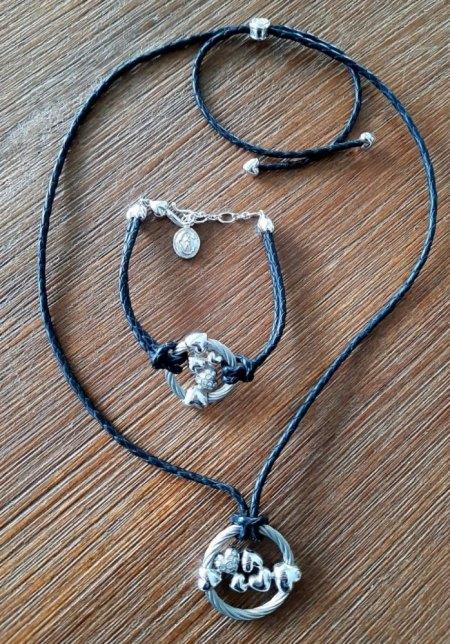 Kette und Armband von Phillipe Charriol