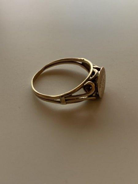 Siegelring 333er Gold