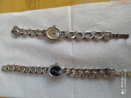 2 Quinn Scheurle Uhren silber 925 massiv zu verkaufen