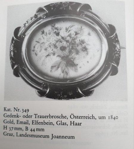 Altes Schmuckstück - wohl Biedermeier Zeit