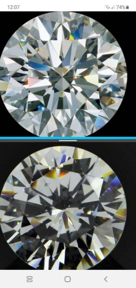 Saphir, Moissanite, Cubic Zirkonia, Glas oder Diamant?