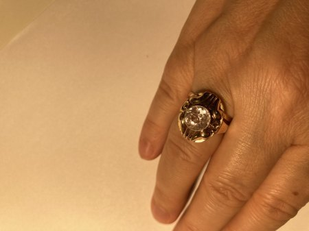 Draufsicht Ring