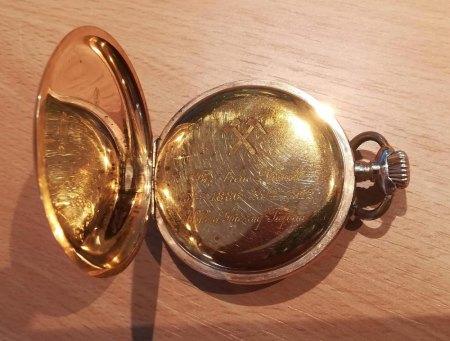 Bewertung goldene Taschenuhr