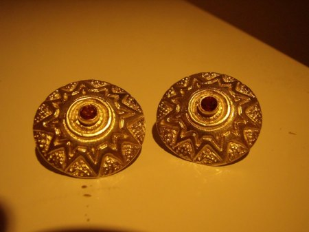 Silberanhänger mit Iolith