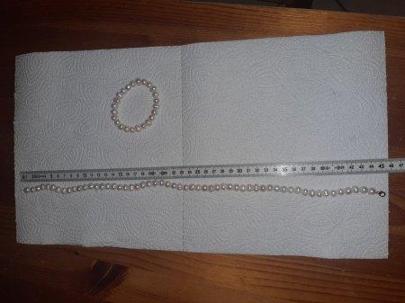 Perlenkette/Armband.