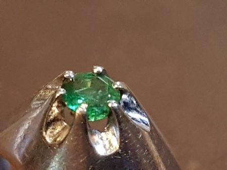"""""""Smaragd Ring"""" – Wer kennt die hier abgebildete Punze, da ich trotz intensiver Recherche nicht weiterkomme"""