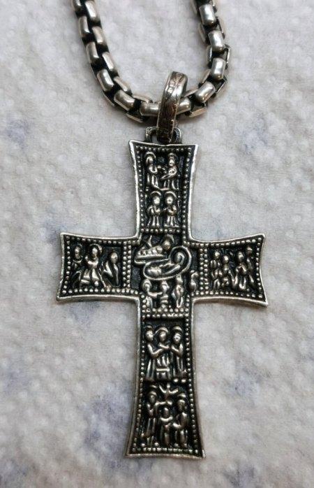 Silber Kreuz Punze bestimmen.
